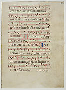 Bifolium from an Antiphonary