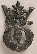 Badge with Bust of Crowned Becket