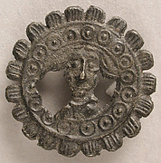 Badge with Head of John the Baptist
