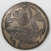 Roundel with a Griffin
