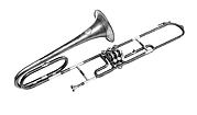 Tenor Valve Trombone in B-flat
