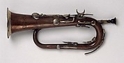 Keyed Bugle in E (originally E-flat?)