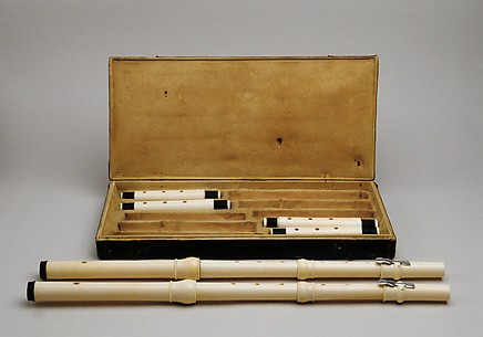 Pair of Transverse Flutes