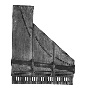 Folding Harpsichord