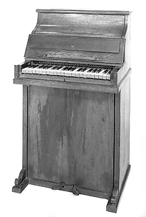 Upright piano and reed organ
