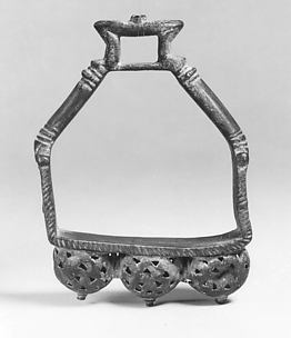 Stirrup with bells