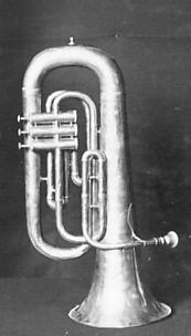 Bass Saxhorn or Euphonium in B-flat
