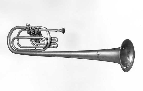 Tenor Over-the-Shoulder Horn in B-flat