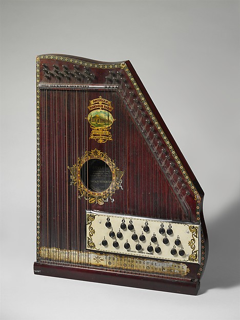 Oscar Schmidt Mandolin Harp American The Met