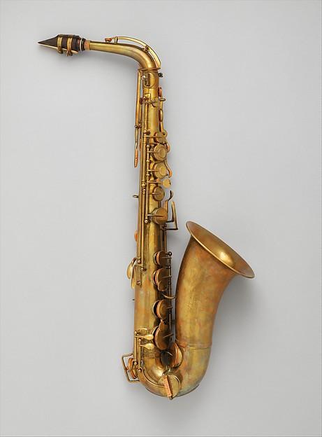Alto saxophone in E-flat