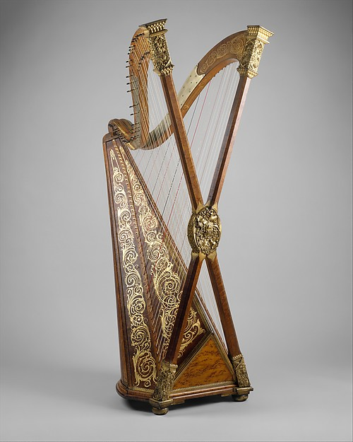 henry greenway double chromatic harp american the met. Black Bedroom Furniture Sets. Home Design Ideas