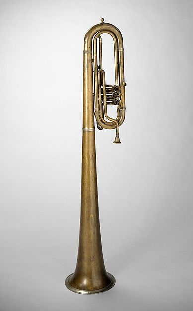 Over-the-Shoulder bass saxhorn in E-flat