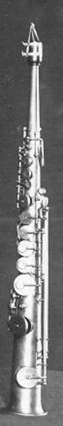 Soprano saxophone in B-Flat