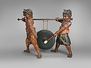 Gong Held by Oni