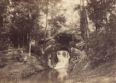 Cascade at the Mare aux biches (Does' Pond), Bois de Boulogne