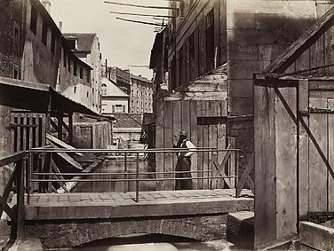 Bords de la Bièvre (au bas de la rue des Gobelins) (Banks of the Bièvre River at the Bottom of the rue des Gobelins) (fifth arrondissement)