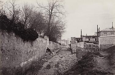 Avenue du Commandeur (de la rue d'Alésia) (fourteenth arrondissement)