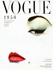 [Cover of Vogue, January 1, 1950]