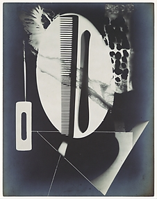 [Rayograph; Comb, Straight Razor Blade, Needle and Other Forms]