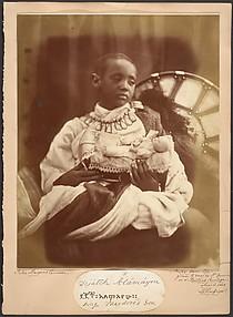 Déjatch Alámayou, King Theodore's Son