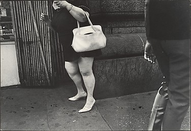 [Street Scene: Woman with White Purse, New York City]