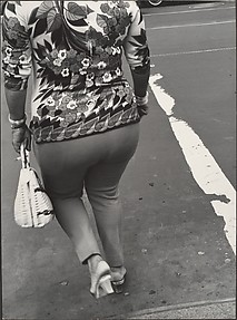 [Street Scene: Woman in Floral Blouse, New York City]
