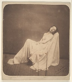 [Seated Model, Partially Draped]