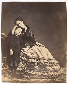 [Empress Eugénie and the Prince Imperial]