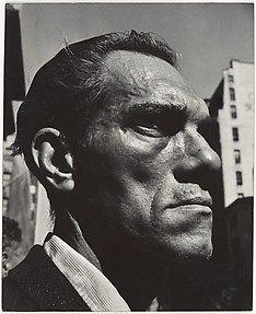 [Close-up Portrait of Man on Street, New York City]