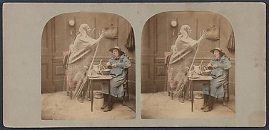 The Ghost in the Stereoscope