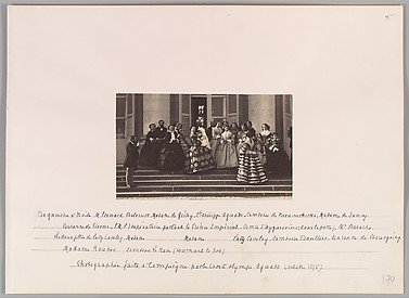 Presentation of the Prince Imperial, Compiègne