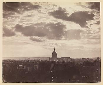 [Cloud Study over Paris]