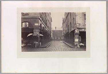 Rue du Contrat Social de la rue de la Tonnellerie