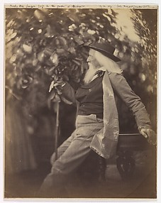 Charles Hay Cameron, Esq., in His Garden at Freshwater