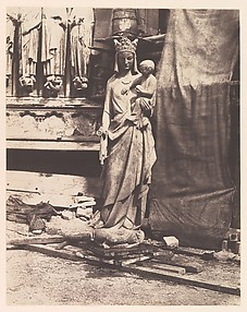 [Sculpture of Virgin and Child, Notre Dame, Paris]