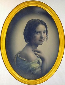 [Young Girl with Hand on Shoulder]