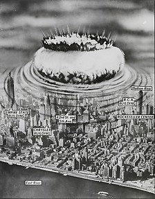 New York Nightmare: Air-burst Atomic Bombs Make Cities in the Northeast Obsolete...