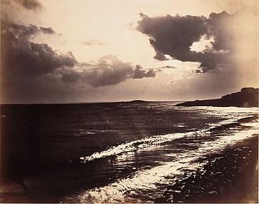 Étude de nuages, clair-obscur