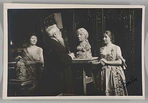 [Madame Bardey, Rodin and Henriette, 31 Ru...