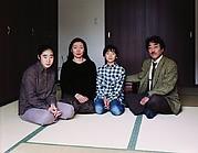 The Okutsu Family in Tatami Room, Yamaguchi