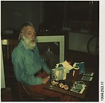 [Walker Evans at His 71st Birthday Party]