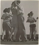 [3 Couples Dancing on the Roof of the Bauhaus]
