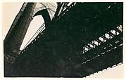 [Brooklyn Bridge, From Below, New York City]
