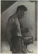 [Man at Sink]