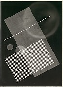 [Photogram: Screen, Circular Forms]
