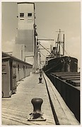 [Ship at Dock, New Orleans]