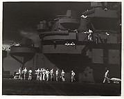 Getting Set for the Big Strike on Kwajalein, U.S.S. Lexington