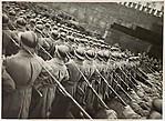 Red Army Detachment Passing the Lenin Mausoleum