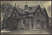 [Victorian Architecture: Gingerbread Style Stone House, Swampscott, Massachusetts]