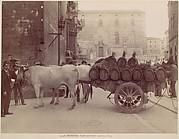 Carro con buoi, Perugia